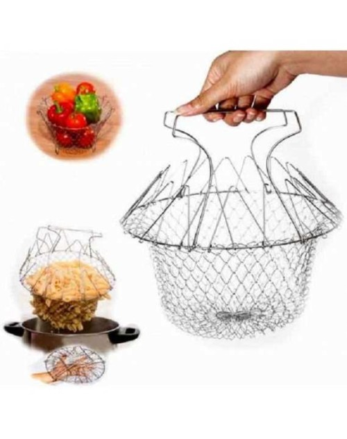 Folding Chef Basket Magic Kitchen Tool