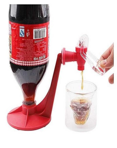 Original Fridge Fizz Saver Soda Cool Saver Dispenser Bottle Portable Drinking Water Dispenser