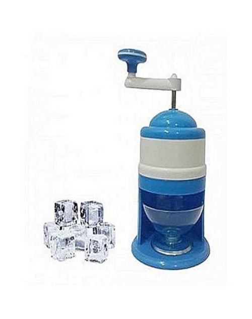 Ice Crusher Machine Ice Cutter Gola Maker - Blue