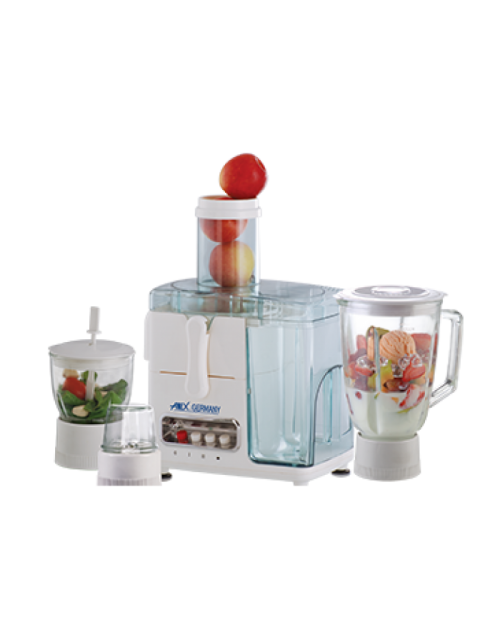 Anex AG-184GL Juicer Blender Grinder and Chopper - 4 in 1