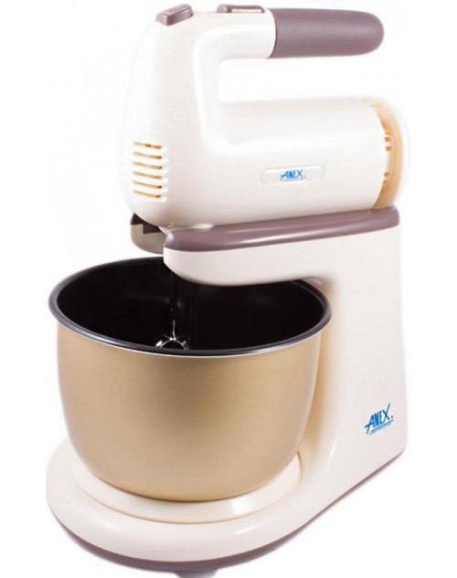Anex AG-818 - Deluxe Hand Mixer with Bowl