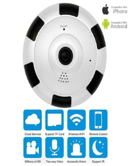 Original IP Wireless Panoramic Fish Eye Camera V380