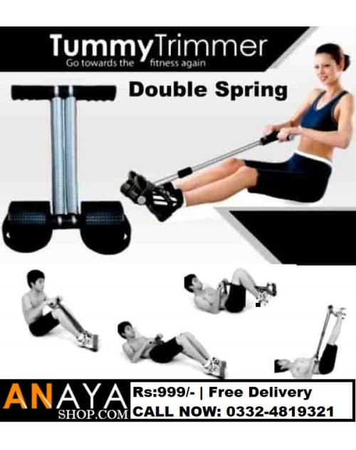 Double Spring Tummy Trimmer in Warranty