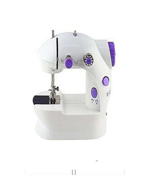 Original Mini Sewing Machine 4in1 white and purple