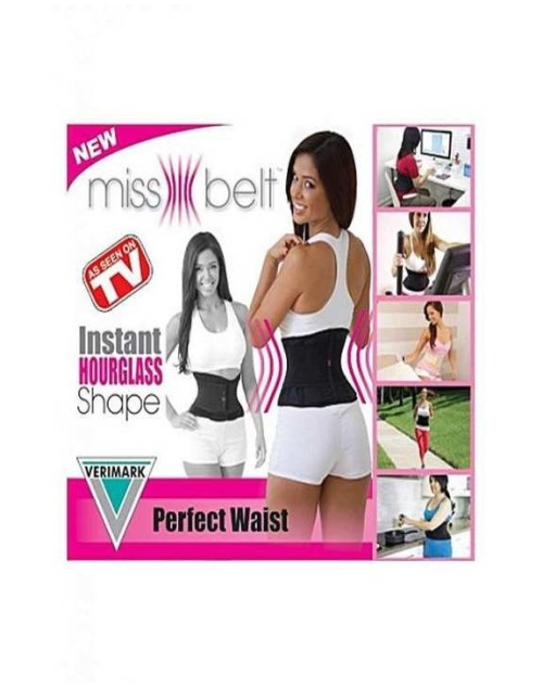 Original Miss Belt Waist Training - Black