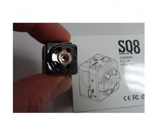 Full HD Hidden Mini Camera SQ8 Night Vision